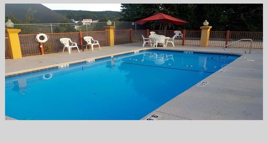 SureStay Plus Hotel by Best Western Asheboro - The outdoor pool is perfect for swimming laps or taking a quick dip