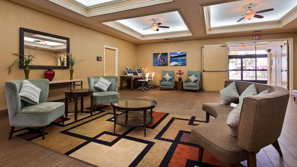 Best Western of Long Beach - Vue du lobby