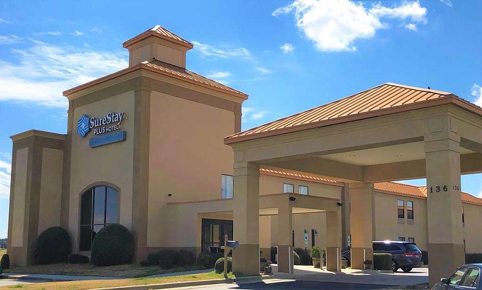 SureStay Plus Hotel by Best Western Roanoke Rapids I 95 - Vista exterior