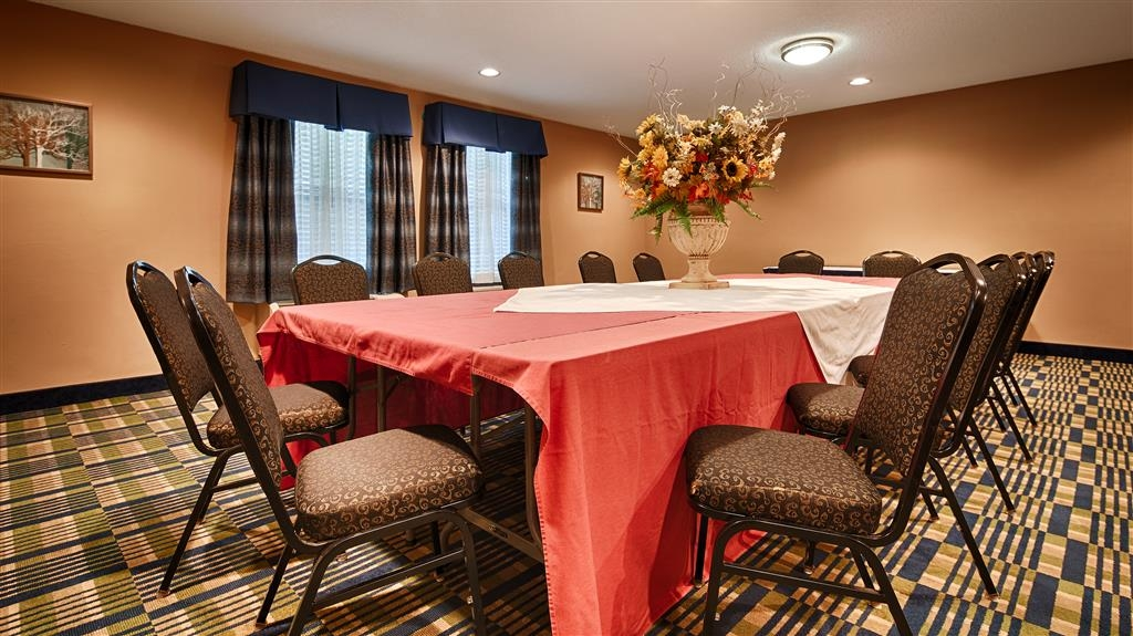 SureStay Plus Hotel by Best Western Roanoke Rapids - We can plan your next meeting or special event in our event room, call us today and inquire.