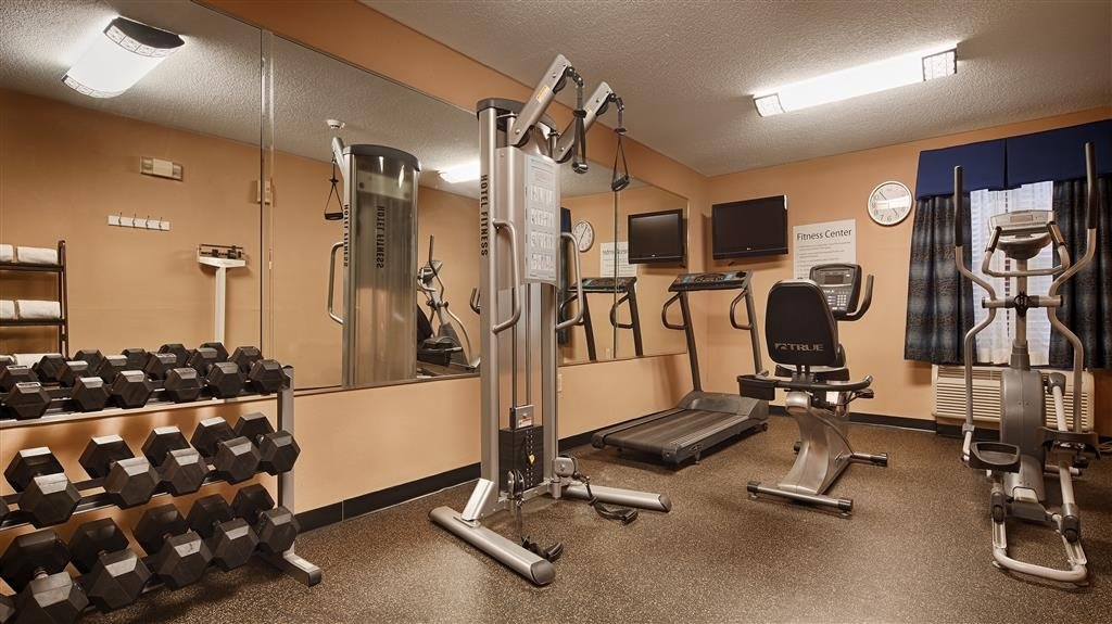 SureStay Plus Hotel by Best Western Roanoke Rapids - Our fitness center is outfitted with everything you need for a great workout.