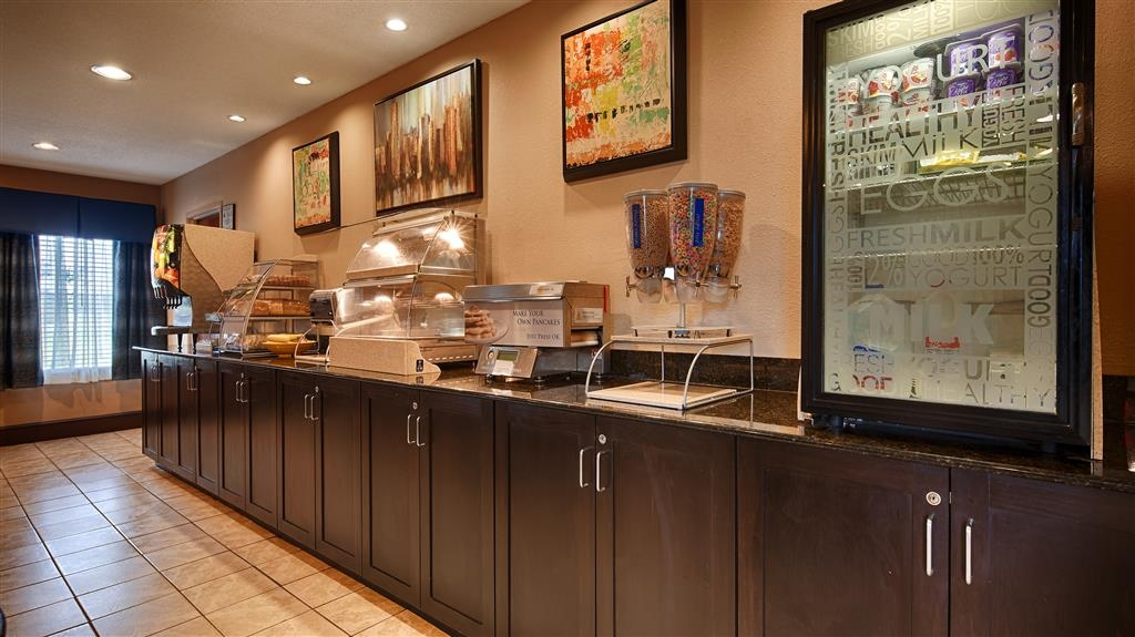 SureStay Plus Hotel by Best Western Roanoke Rapids - Rise and shine with a complimentary full hot breakfast every morning.