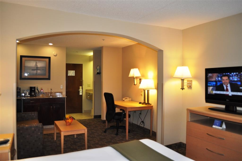 SureStay Plus Hotel by Best Western Roanoke Rapids - Upgrade yourself to our king junior suite for added comfort during your stay.