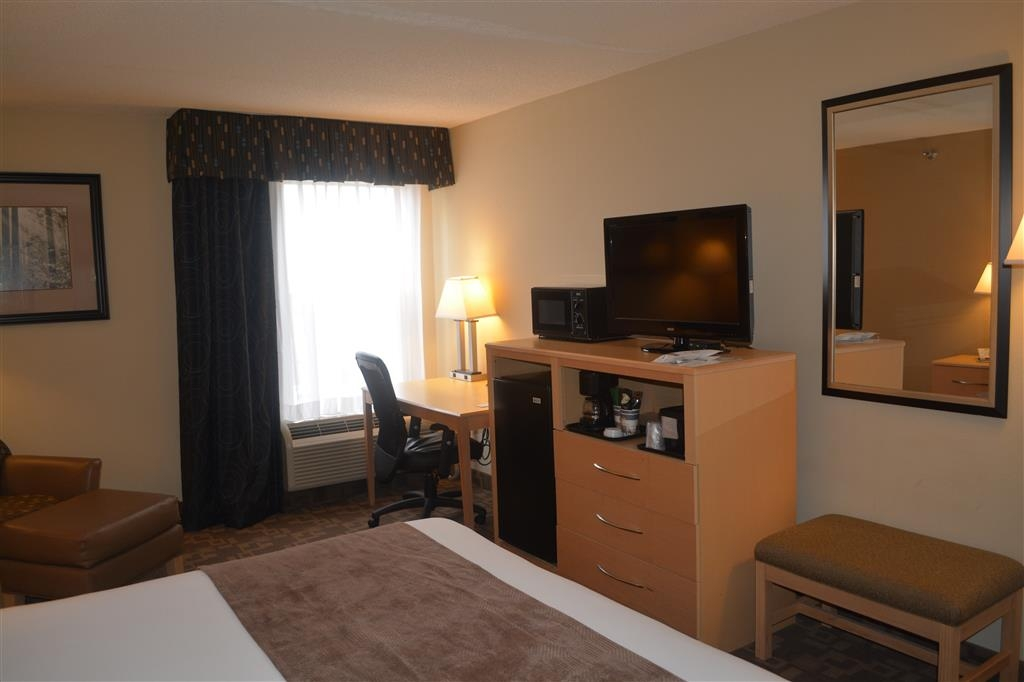 SureStay Plus Hotel by Best Western Roanoke Rapids - Indulge yourself in our warm, welcoming and inviting king room.