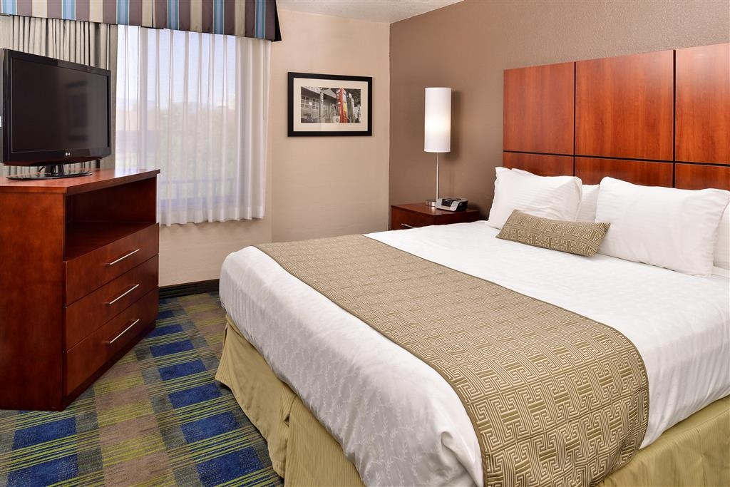 Best Western Plus Heritage Inn Rancho Cucamonga/Ontario - Suite con letto king size