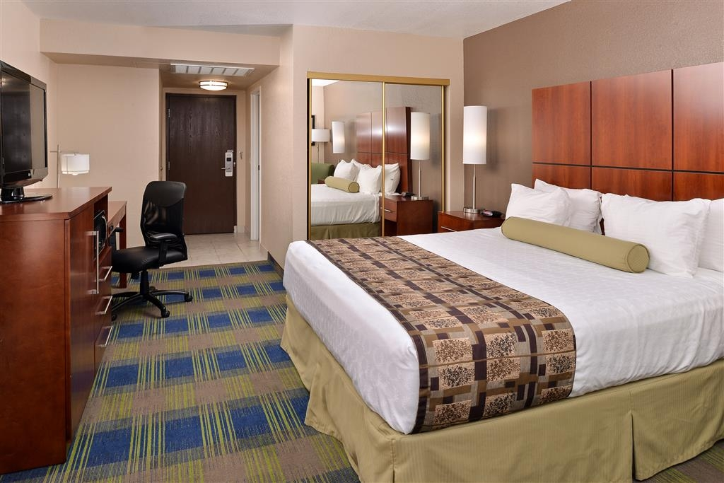 Best Western Plus Heritage Inn Rancho Cucamonga/Ontario - Camera deluxe con letto king size