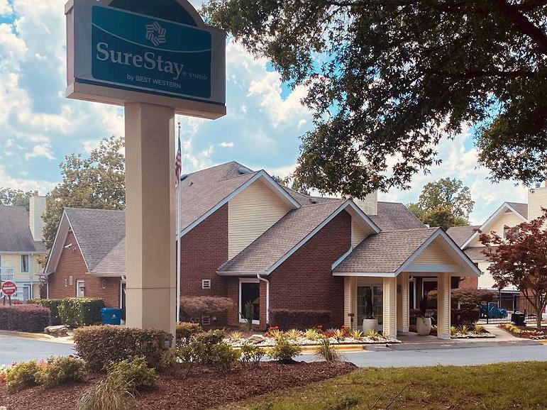 SureStay Studio by Best Western Charlotte Executive Park - Vista exterior