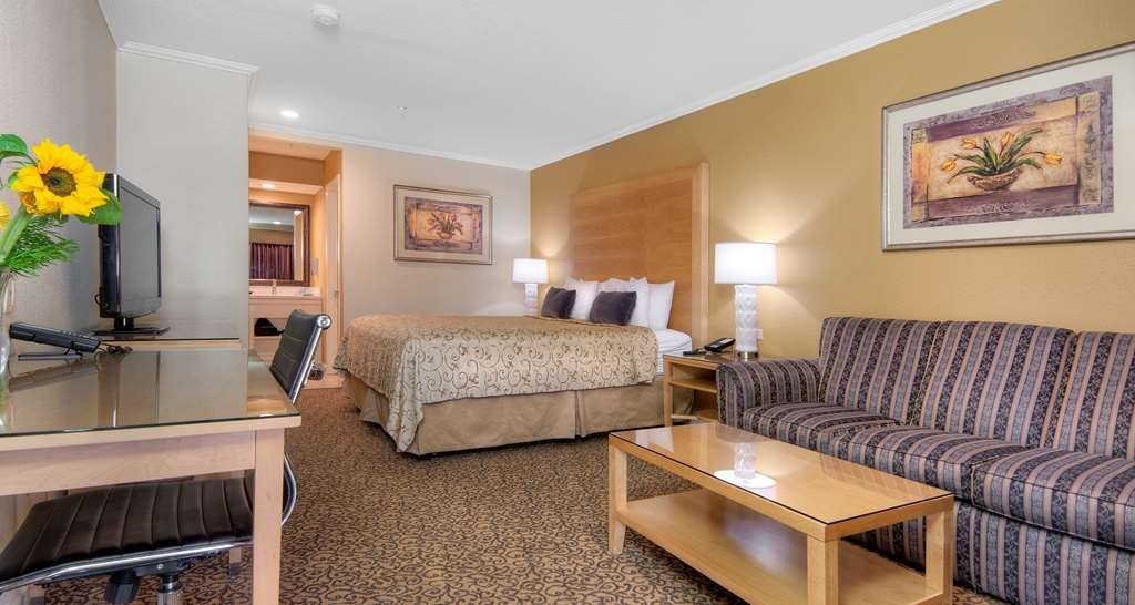 Best Western Plus Dixon Davis - Make yourself at home in our King exterior corridor rooms! (Pet friendly)