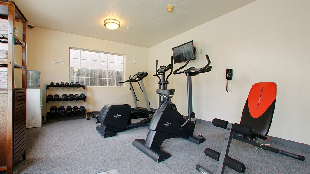 Best Western Luxury Inn - Catch an episode of your favorite show while working off those pesky calories.