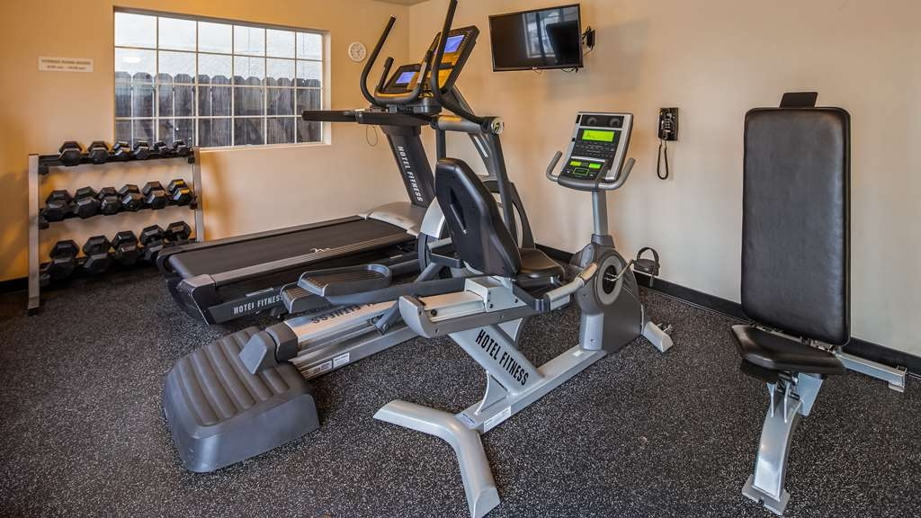 Best Western Luxury Inn - Stay active in our fitness center with a variety of equipment.