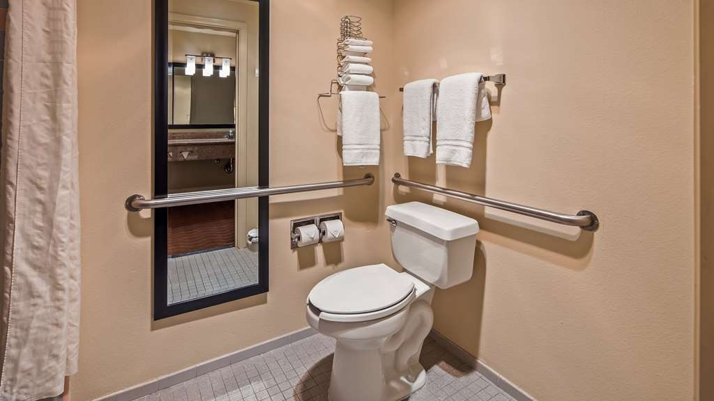 Best Western Luxury Inn - We've designed our ADA mobility accessible rooms for easy wheelchair access.