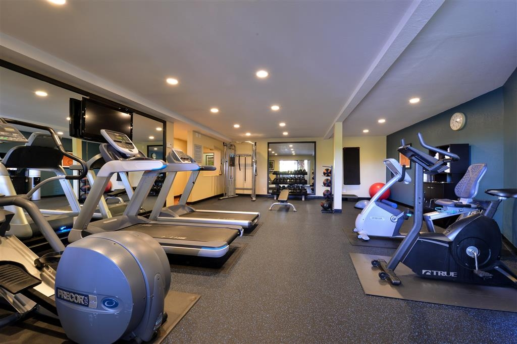 Best Western Plus Novato Oaks Inn - fitnessraum