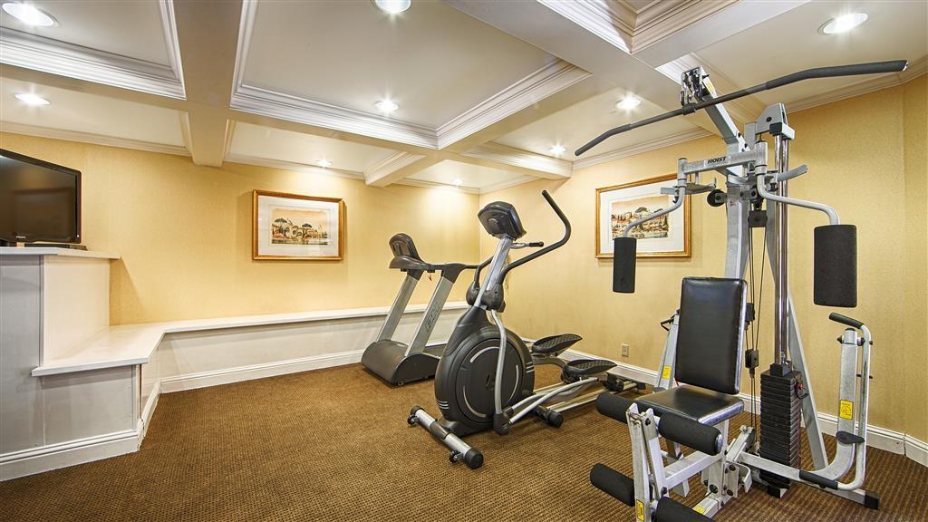 Best Western Plus Riviera - fitnessraum