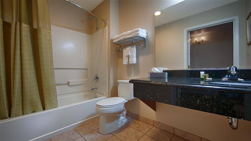 Best Western Americana - Enjoy getting ready in the morning in our guest bathrooms.