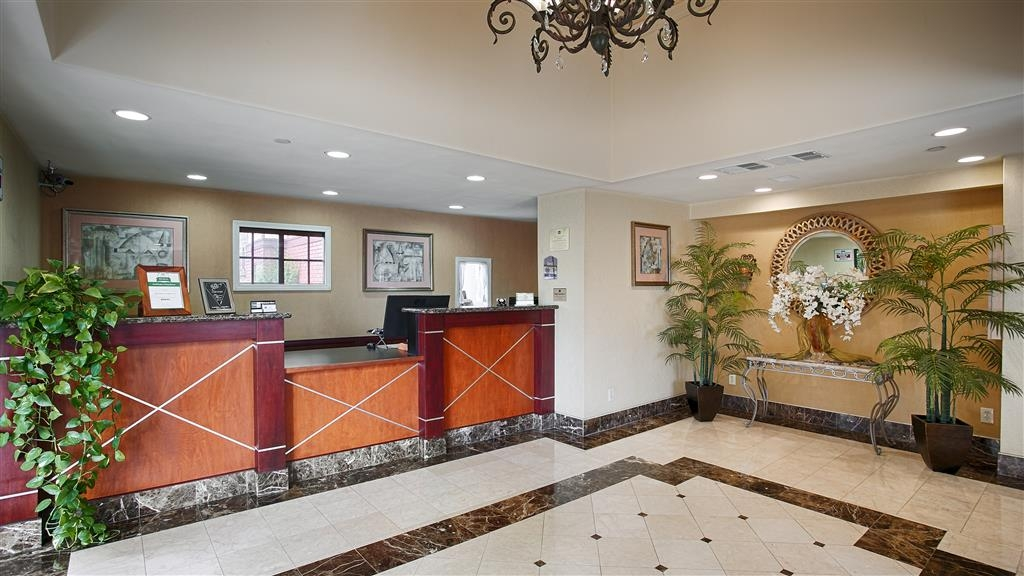 Best Western Surf City - Vue du lobby