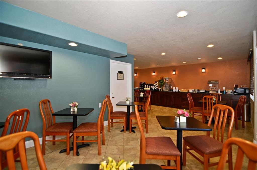Best Western Kettleman City Inn & Suites - Area colazione