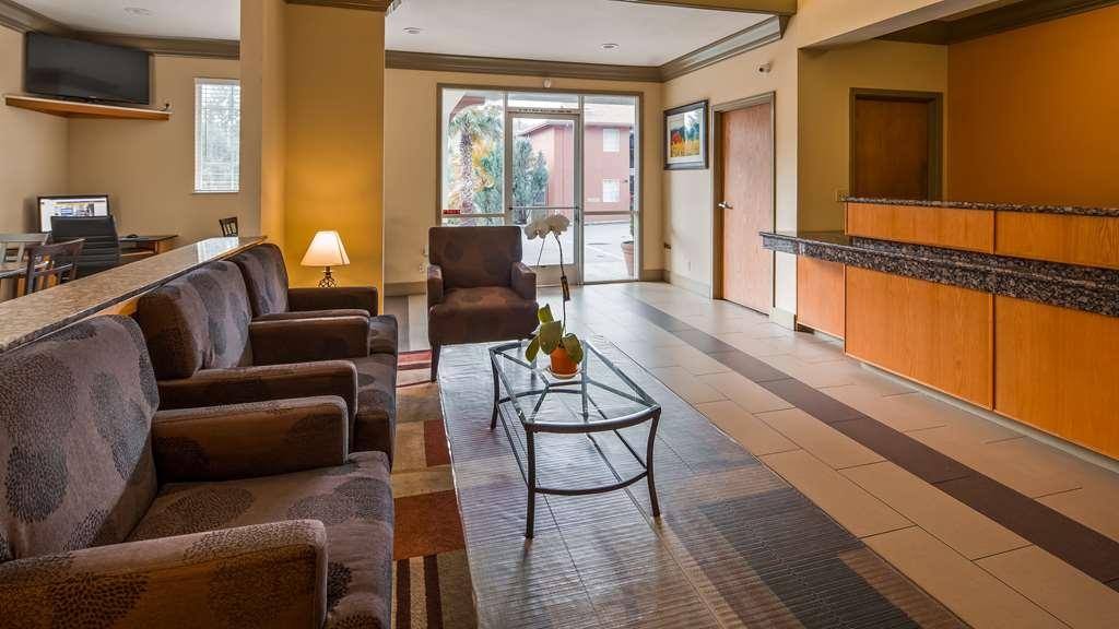 Best Western Willits Inn - Vue du lobby
