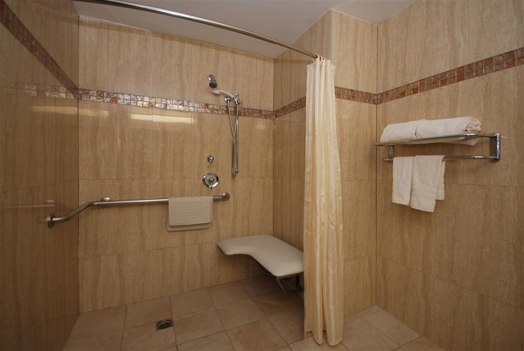 Best Western Los Angeles Worldport Hotel - Mobility Accessible Shower