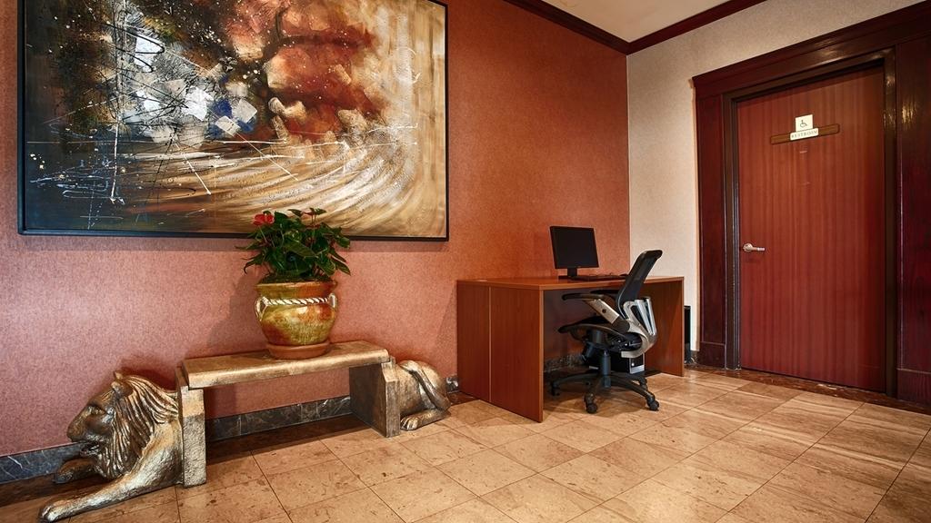 Best Western Los Angeles Worldport Hotel - Vue du lobby