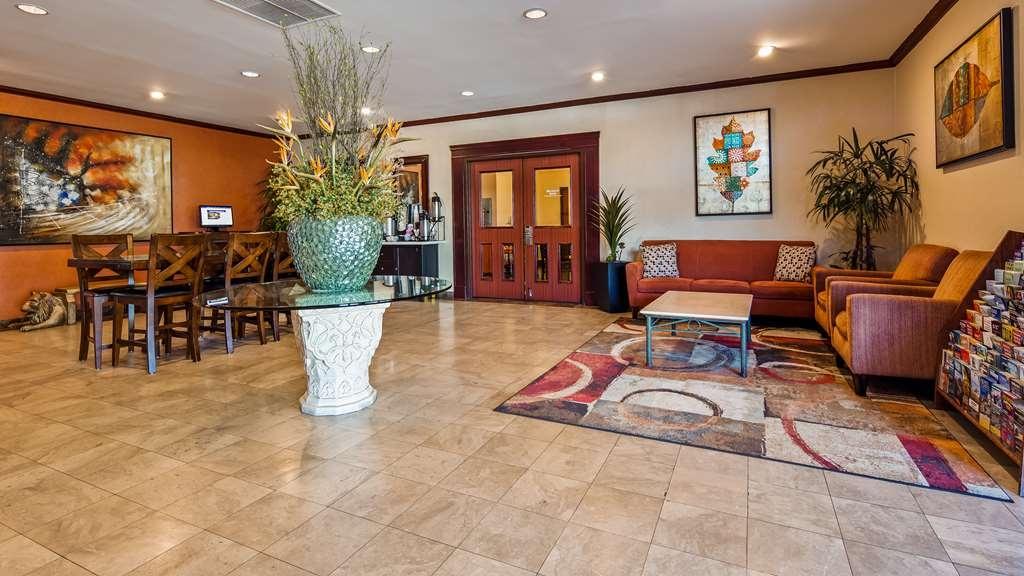 Best Western Los Angeles Worldport Hotel - Vista del vestíbulo