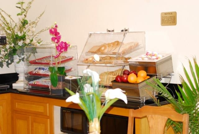 Best Western John Jay Inn - Our delicious breakfast features gourmet coffee, variety of pastries and fresh waffles.