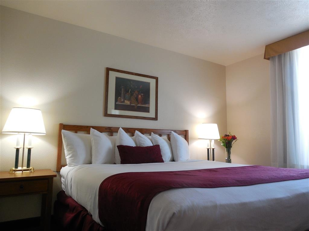 Best Western John Jay Inn - Relax and sink into the comfort of our guest room.