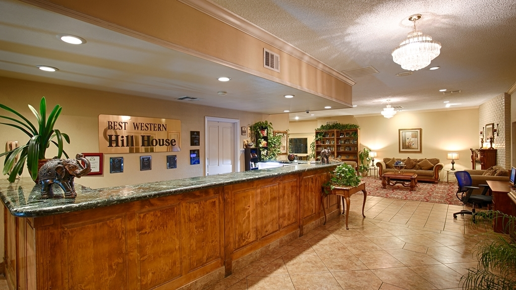 Best Western Plus Hill House - reception
