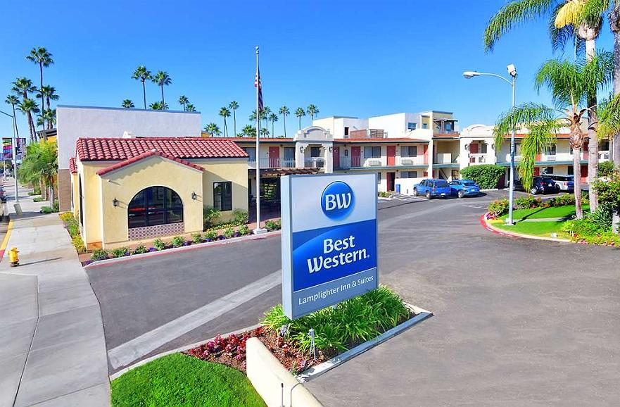 Best Western Lamplighter Inn & Suites at SDSU - Vista exterior