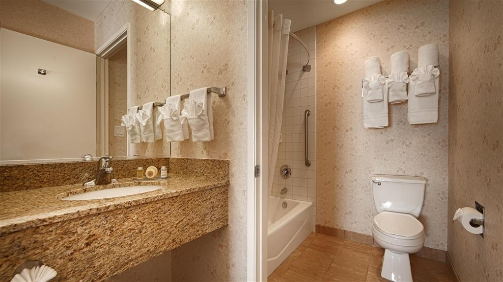 Best Western Lamplighter Inn & Suites at SDSU - Guest Bathroom