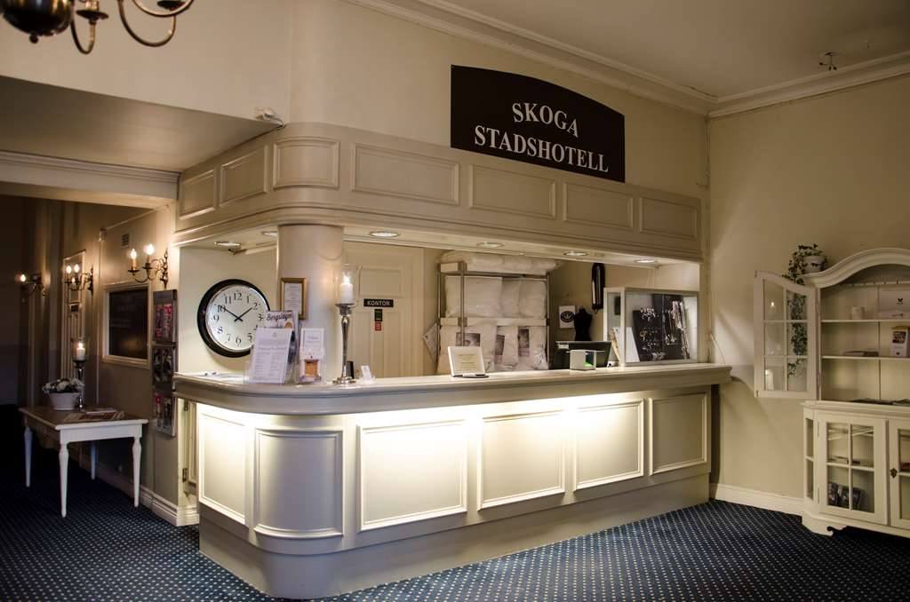 Nora Stadshotell, Sure Hotel Collection by Best Western - Front Desk