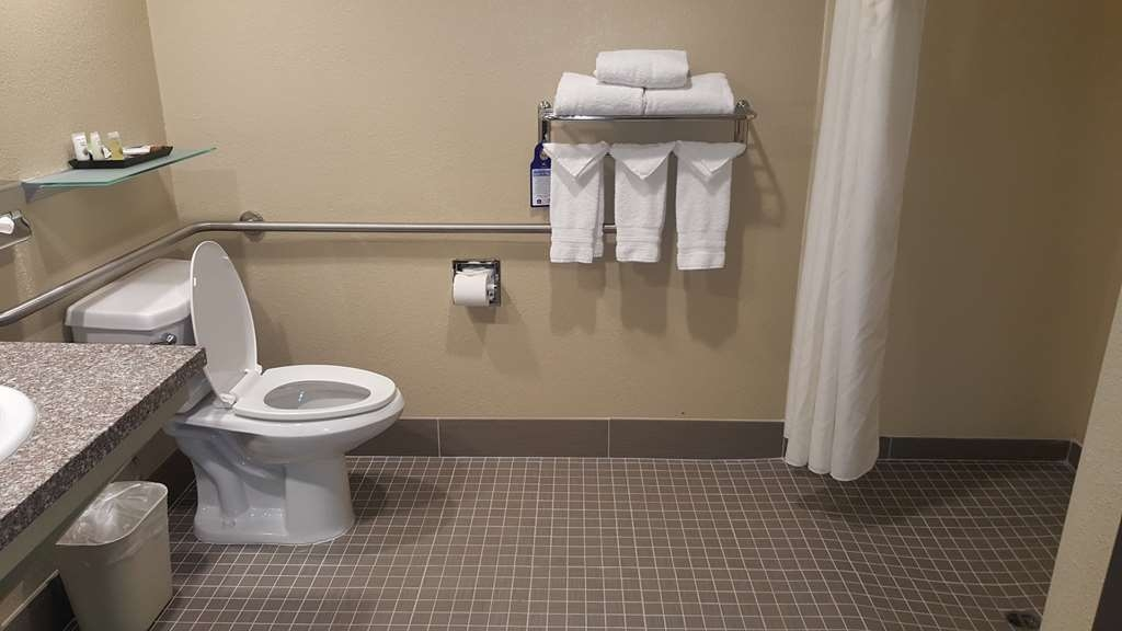 Best Western Plus Airport Inn & Suites - For your convenience, we have mobility accessible bathrooms with a roll-in shower.