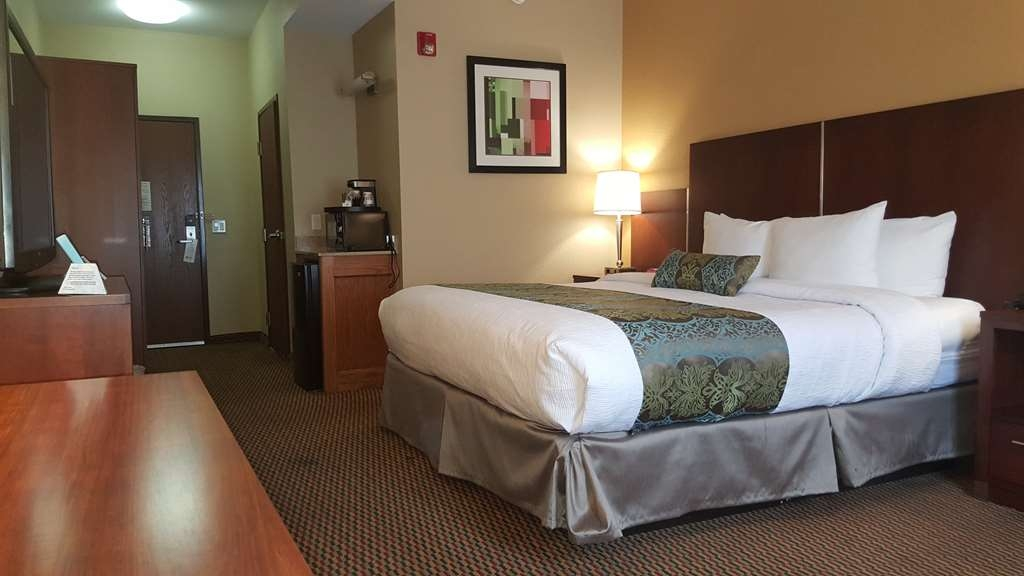 Best Western Plus Airport Inn & Suites - Our spacious king guest room or suite has all the comforts of home at your fingertips.