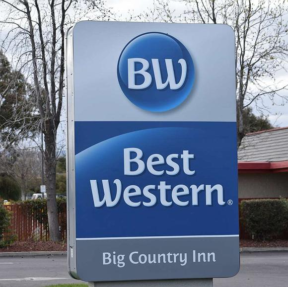Best Western Big Country Inn - Facciata dell'albergo