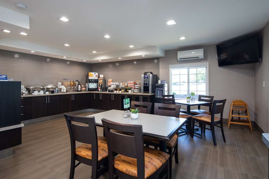 Best Western Silicon Valley Inn - Guest Breakfast Seating