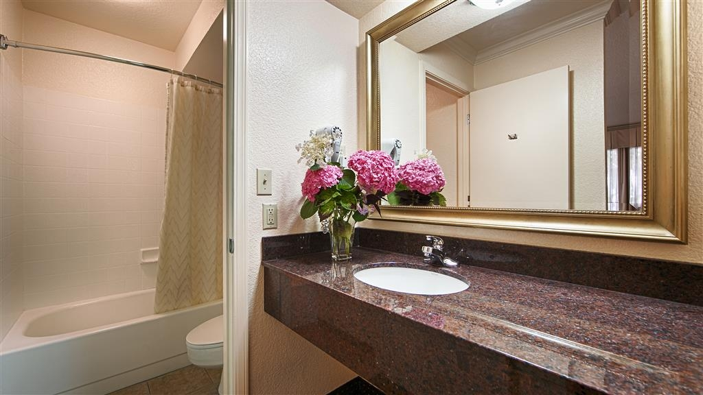 Best Western Danville Sycamore Inn - Our guest bathrooms were designed with you in mind.