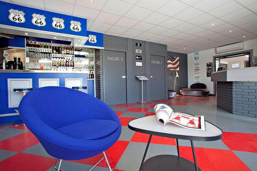 Sure Hotel by Best Western Bordeaux Aeroport - Vista del vestíbulo