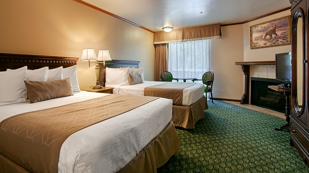 Best Western Big Bear Chateau - Two Double Guest Room