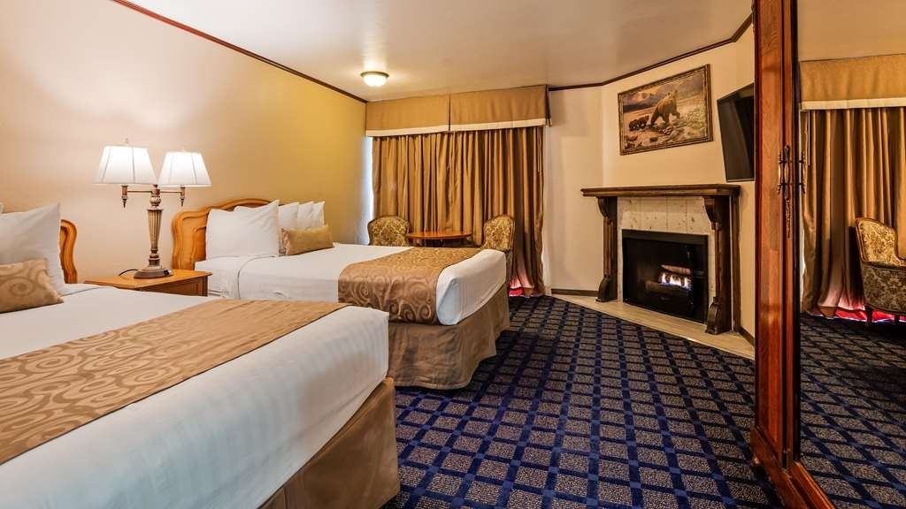 Best Western Big Bear Chateau - Two Queen Guest Room