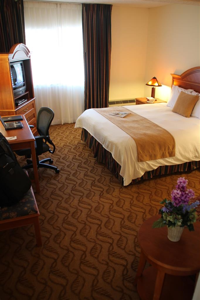 Best Western Plus Thousand Oaks Inn - This standard suite has a 27-inch television, work space and in-room safe.