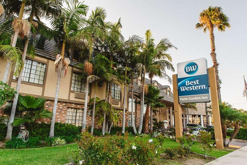 Best Western Palm Garden Inn - Area esterna