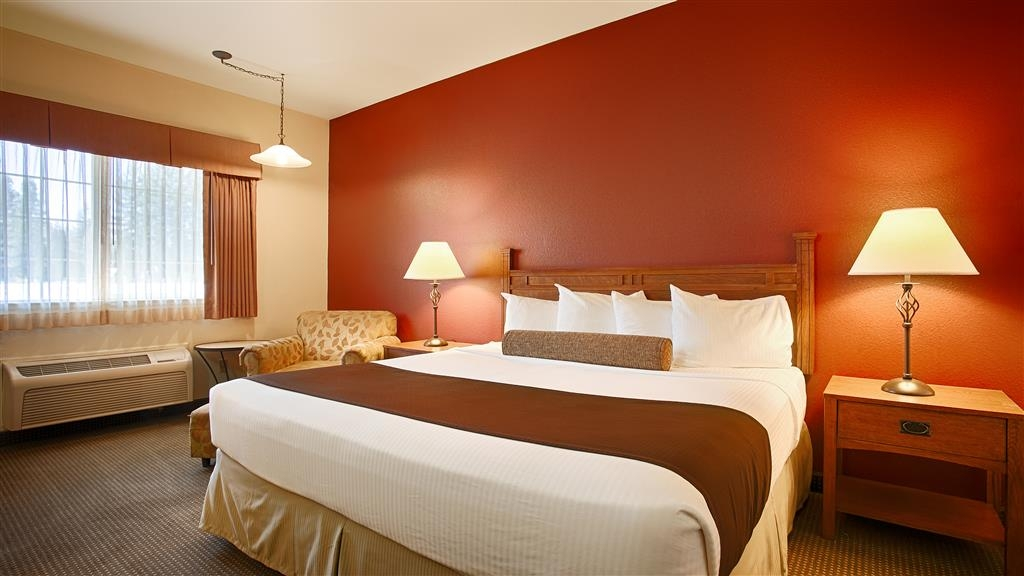 Best Western Rose Quartz Inn - Chambre avec lit king size