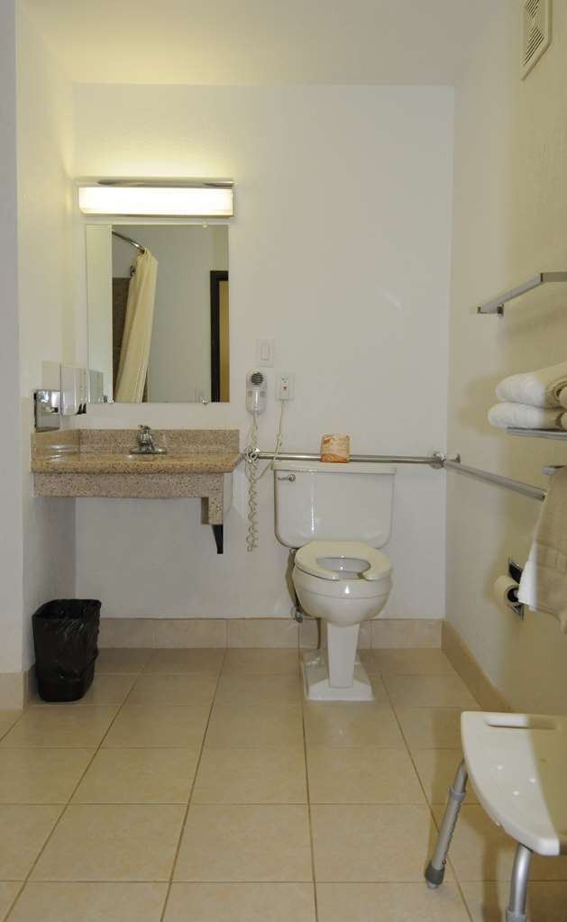Best Western Antelope Inn & Suites - ADA Mobility Accessible bathroom 1 QUEEN BED