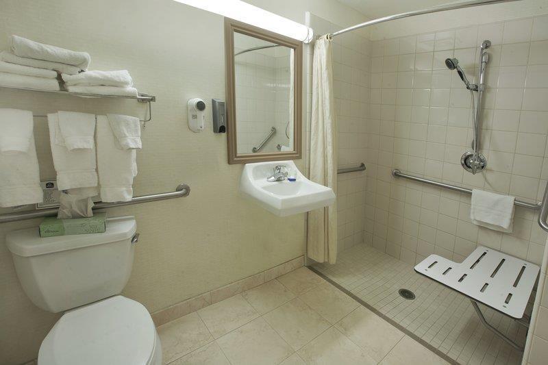 Best Western Plus Lake Elsinore Inn & Suites - Cuarto de baño con acceso para huéspedes con limitaciones físicas.