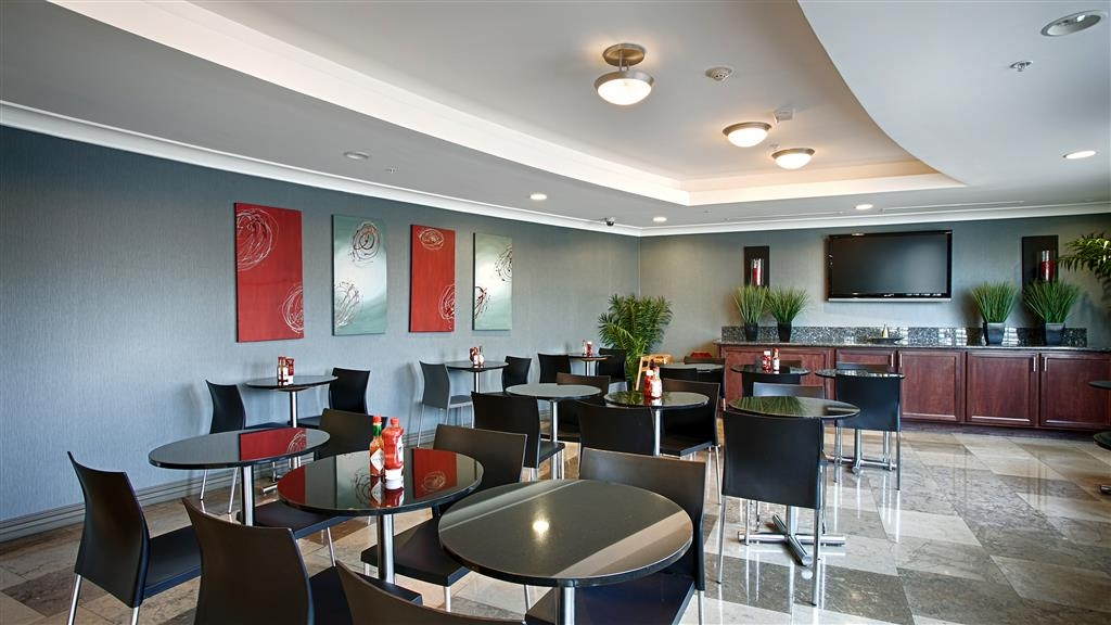 Best Western Plus Avita Suites - Breakfast Room for complimentary complete buffet breakfast, including fresh grind Coffee, Cappuccino, and Espresso machine!