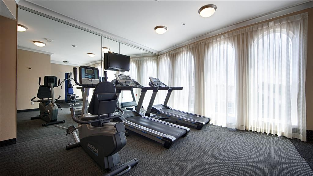 Best Western Plus Avita Suites - Fitness Center including, Treadmill, Elliptical, Stationary Bike, and Strength Machine.