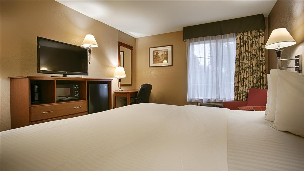 Best Western Galt Inn - Our king guest rooms make the perfect weekend retreat.