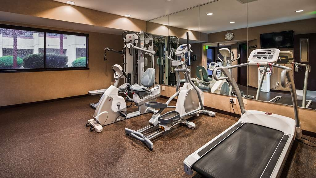 Best Western Plus Wine Country Inn & Suites - Fitnessstudio