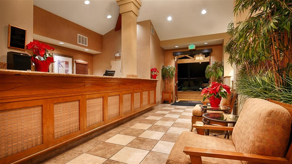 Best Western Chula Vista/Otay Valley Hotel - Rezeption