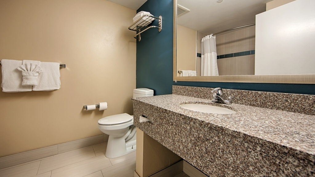 Best Western Plus Anaheim Orange County Hotel - Baño