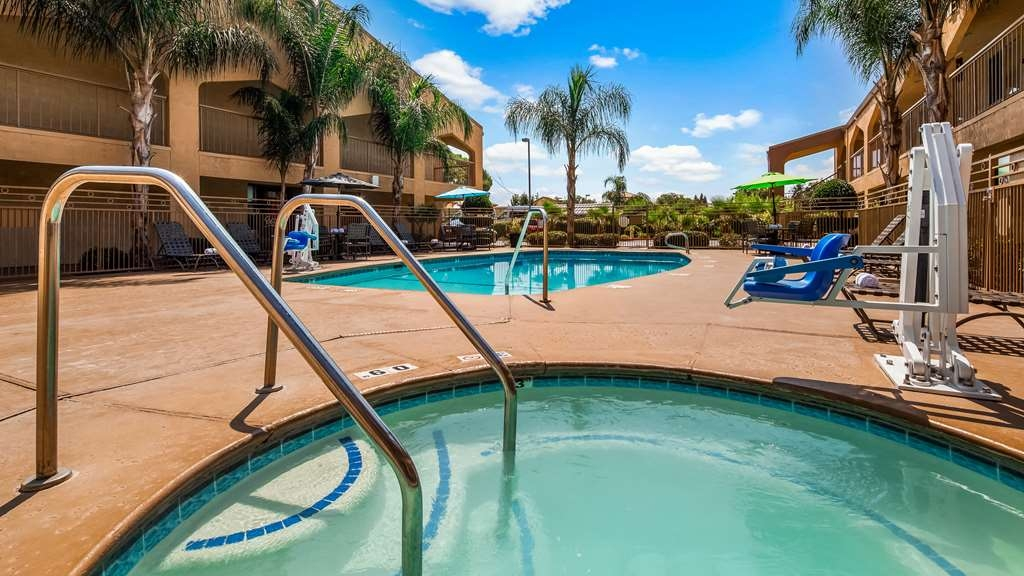 Best Western Yuba City Inn - Vue de la piscine